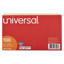 UNIVERSAL PRODUCTS UNV47256 Index Cards, 5 X 8, Blue/salmon/green/cherry/canary, 100/pack