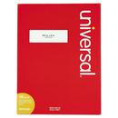 UNIVERSAL PRODUCTS UNV80003 Laser Printer Permanent Labels, 1 1/3 X 4, White, 3500/box