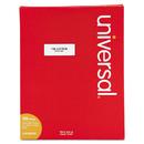 UNIVERSAL PRODUCTS UNV80102 Laser Printer Permanent Labels, 1 X 2 5/8, White, 3000/box
