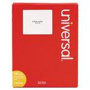 UNIVERSAL PRODUCTS UNV80108 Laser Printer Permanent Labels, 3 1/3 X 4, White, 600/box