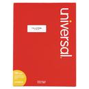 UNIVERSAL PRODUCTS UNV80120 Laser Printer Permanent Labels, 1 X 2 5/8, White, 7500/box