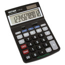 Victor VCT11803A 1180-3a Antimicrobial Desktop Calculator, 12-Digit Lcd