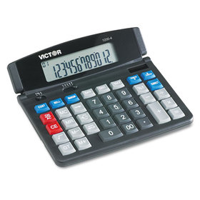 1200-4 Business Desktop Calculator, 12-Digit LCD, Price/EA