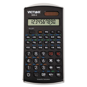VICTOR TECHNOLOGIES VCT9302 930-2 Scientific Calculator, 10-Digit LCD
