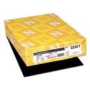 Neenah Paper WAU22321 Color Paper, 24lb, 8 1/2 X 11, Eclipse Black, 500 Sheets