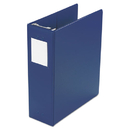 "ACCO BRANDS WLJ36544BL Large Capacity Hanging Post Binder, 11 x 8-1/2, 2"" Capacity, Blue"