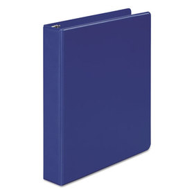 "Basic Vinyl Round Ring Binder, 1-1/2"" Capacity, Dark Blue, Price/EA"