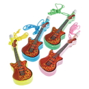 US TOY 1116 Guitar Bubble Necklaces