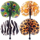 US TOY 1746 Safari Folding Fans