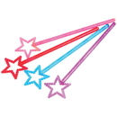 US TOY 2182 Star Princess Magic Wands
