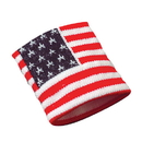 US TOY 2228 American Flag Wrist Bands