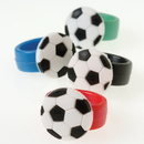 US TOY 2289 Soccer Rubber Rings