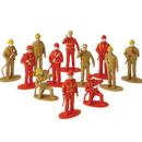 US TOY 2451 Firefighter Toy Figures