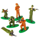 US TOY 2464 Soldier Toy Figures