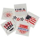 US TOY 296 Patriotic Temporary Tattoos