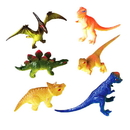 US TOY 3536 Toy Dinosaur Figures / 3 in.