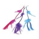US TOY 4282 Neon Feather Hair Clips