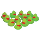 US TOY 4283 Glow in the Dark Mini Ducks