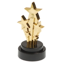 US TOY 4383 Shooting Star Trophies / 6 Pc