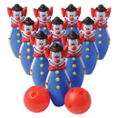 US TOY C15 Clown Bowling Game