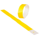 US TOY C18-08 Event Wristbands, Yellow - 100 pc