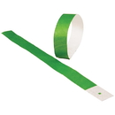 US TOY C18-10 Event Wristbands, Green - 100 pc