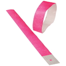 US TOY C19-87 Event Wristbands / Neon Pink  100-pc