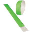 US TOY C19-89 Event Wristbands / Neon Green  100-pc