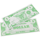 US TOY GA18-1 1000 Pack of Play Money Bills - $1 Bills