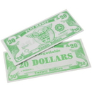 US TOY GA18-20 1000 Pack of Play Money Bills - $20 Bills