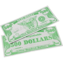 US TOY GA18-500 1000 Pack of Play Money Bills $ 500 Bills