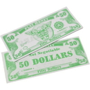 US TOY GA18-50 1000 Pack of Play Money Bills - $50 Bills
