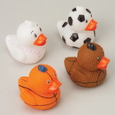 US TOY GS523 Small Sports Ball Rubber Ducks