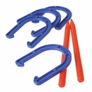 US TOY GS717 Horseshoe Game Set - 6 Pcs
