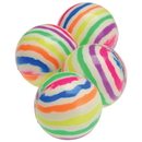 US TOY GS787 Rainbow Striped Bounce Balls / 35mm