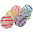 US TOY GS825 Striped Jump Ball w / Light / 6-PC