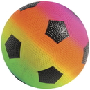 US TOY GS829 Rainbow PVC Soccer Balls, 6 inch