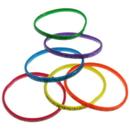 US TOY JA792 Neon Zebra Print Bangle Bracelets