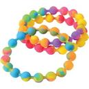 US TOY JA801 Rainbow Silicone Bead Bracelets