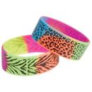 US TOY JA812 Rainbow Animal Print Rubber Bracelets