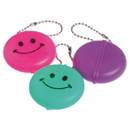 US TOY KC297 Smiley Face Coin Purse Key chains