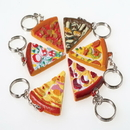 US TOY KC364 Pizza Key Chains