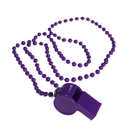 US TOY KD29-05 Purple Bead Necklaces With Whistles