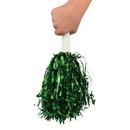 US TOY KD45-10 Green Metallic Pom Poms
