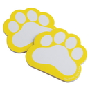 US TOY KD47-08 Pawprint Memo Pads, Yellow