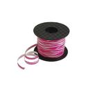 US TOY LT211 Pink Zebra Print Curling Ribbon