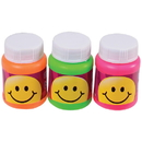 US TOY MU538 Mini Smiley Face Bubbles - 24 Pieces