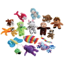 US TOY SA113 Extra Small Stuffed Animal Assortment - 48 Pieces