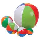 US TOY SA133 Traditional Beachball Assort / 12 Pc