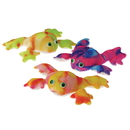US TOY SB410 Plush Tie Dyed Frogs